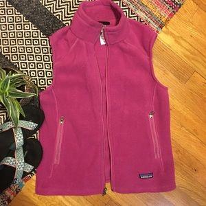 Patagonia fleece vest EUC small
